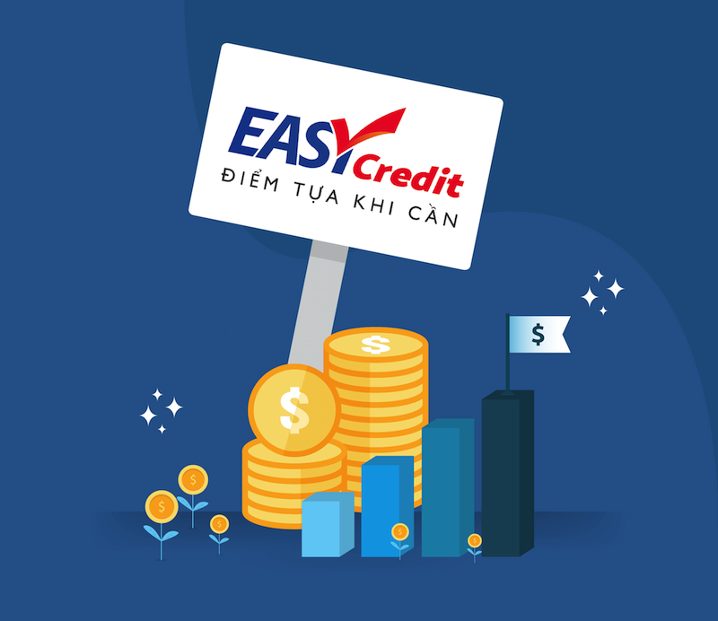 Easy Credit cung cấp đa dạng các gói vay