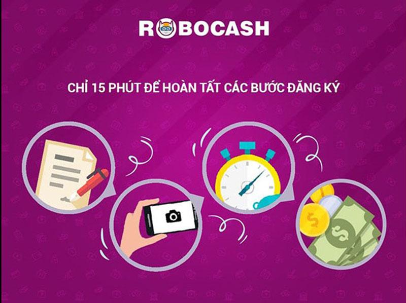 Robocash là dịch vụ vay tiền tự động trên Internet