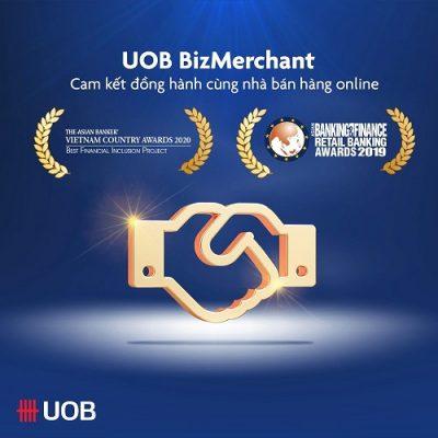 Hướng dẫn cách vay vốn kinh doanh online Uob Bizmerchant 2021