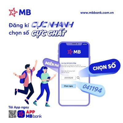 Hướng dẫn cách đăng ký tài khoản MB Bank số đẹp Online 2021