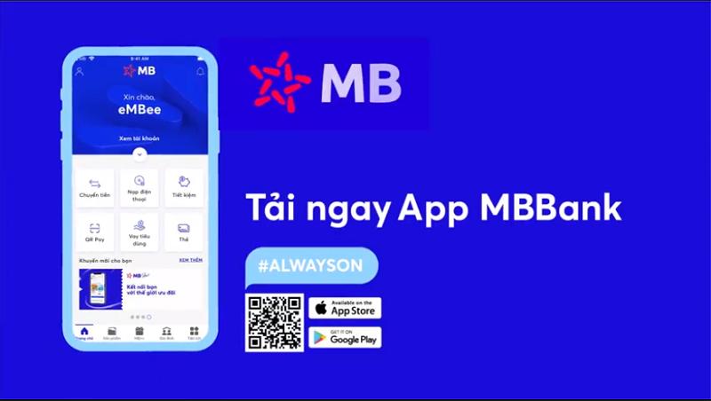 App MB Bank là ứng dụng di động của ngân hàng Quân Đội
