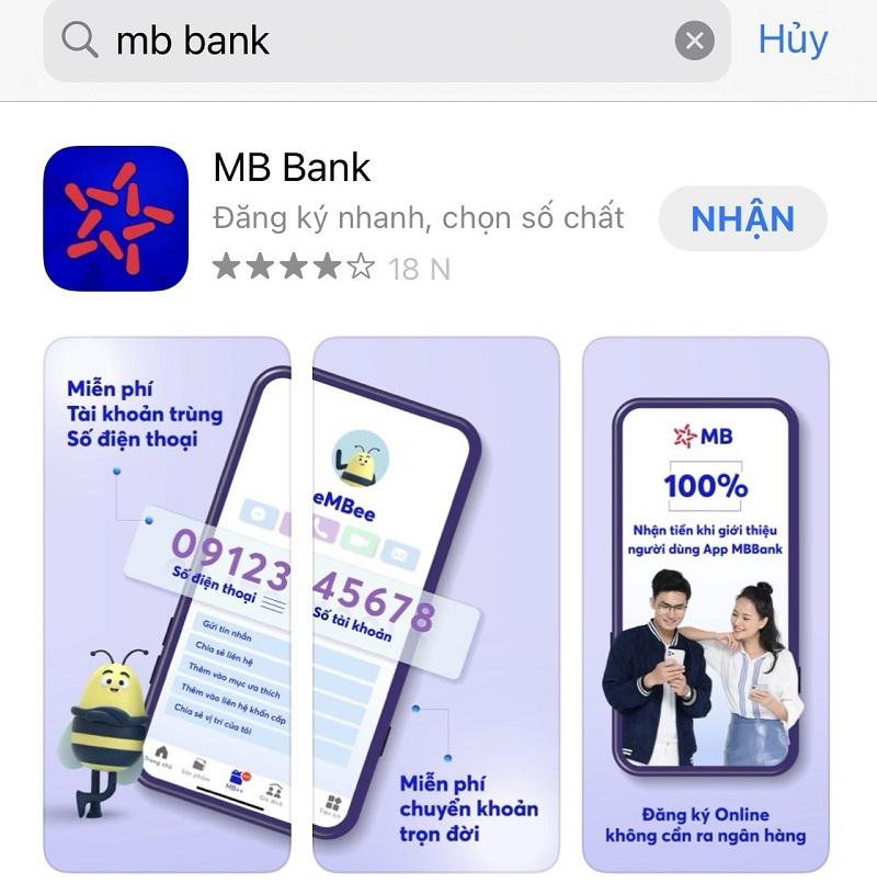 Phiên bản MB Bank App mới nhất