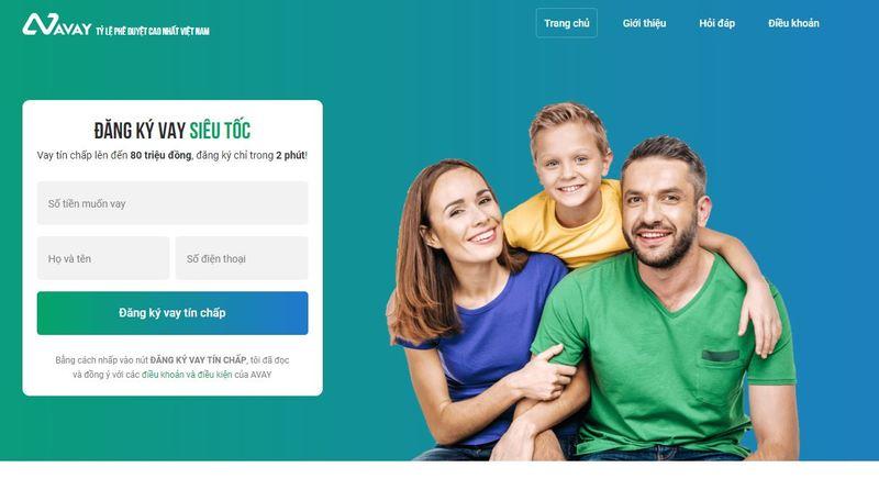 Avay là 1 dịch vụ vay tín chấp online được rất nhiều người tin dùng hiện nay