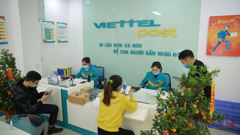 Thanh toán tại các điểm giao dịch của Viettel Post
