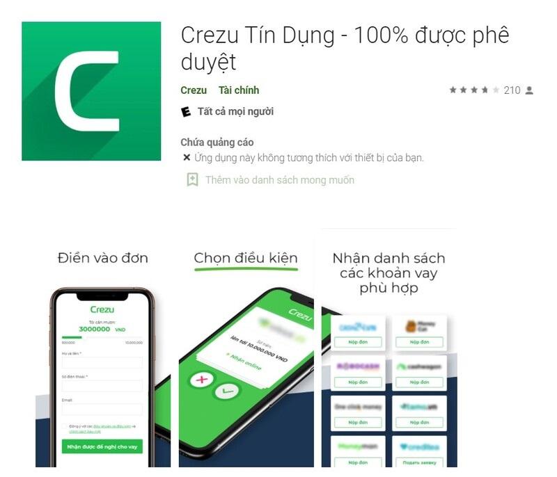 Mọi thông báo, quy trình và tiến độ thanh toán đều dễ dàng theo dõi trên app Crezu