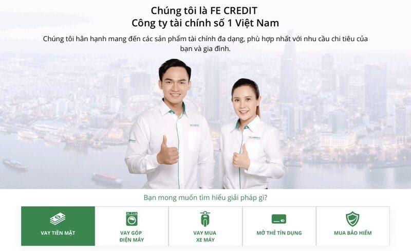 FE $NAP Credit thuộc bản quyền của Công ty Tài Chính Fe Credit
