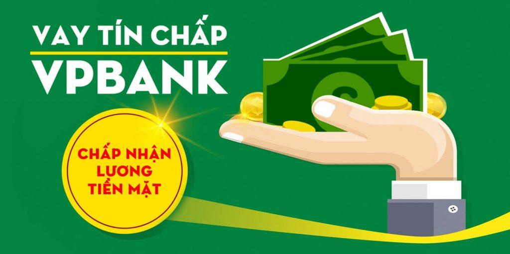 Vay tín chấp VPBank Online đơn giản