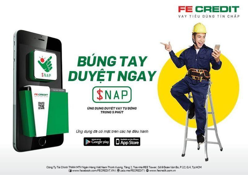 FE $NAP Credit là ứng dụng cho vay tiền online tự động hoàn toàn miễn phí