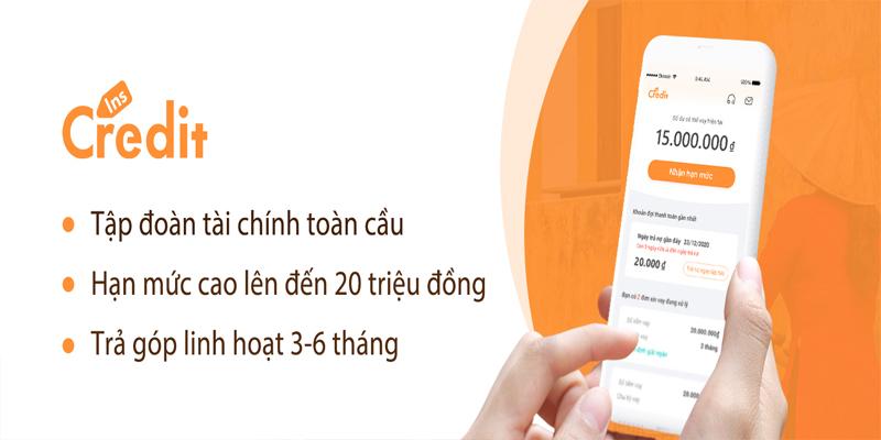 InsCredit là App vay tiền được nhiều người sử dụng
