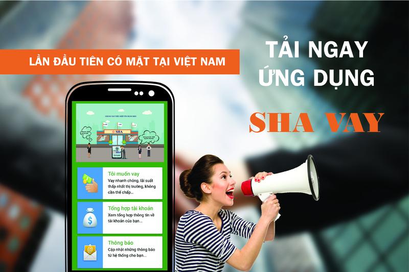 SHA là ứng dụng cho vay tiền nhanh online