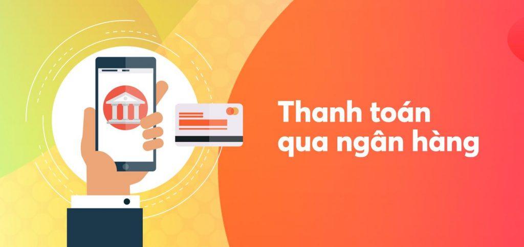 Chuyển tiền qua internet banking hoặc trực tiếp tại quầy giao dịch