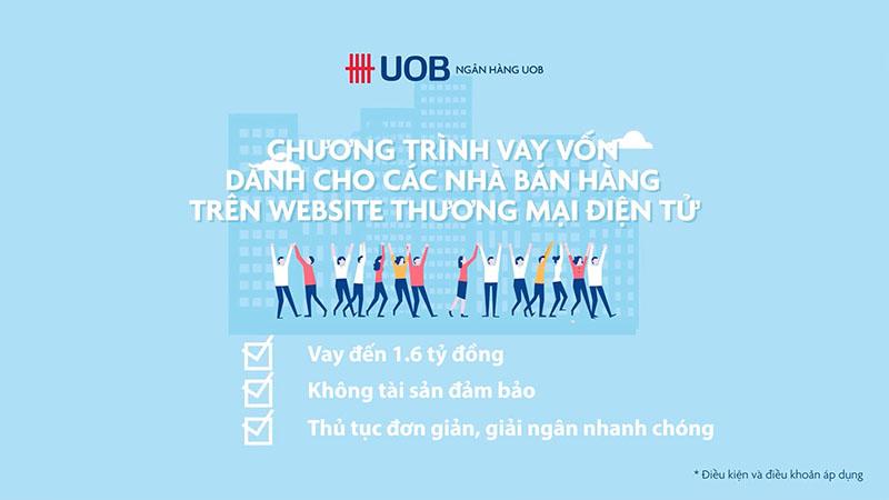 Uob Bizmerchant là gói vay kinh doanh Online hấp dẫn được khách hàng tin tưởng và lựa chọn