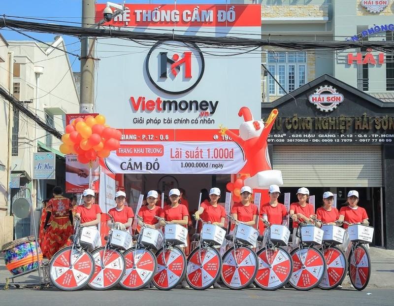 Vietmoney là thương hiệu của công ty cổ phần Việt Money