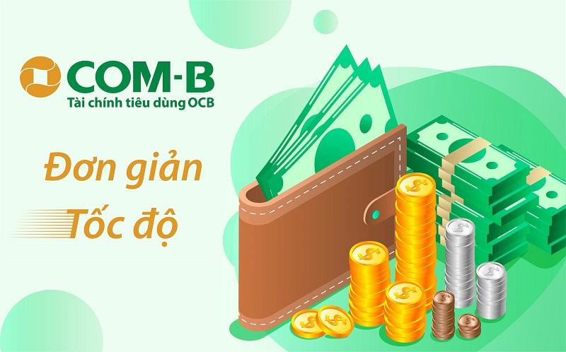 OCB COMB là sản phẩm hỗ trợ vay tiêu dùng tín chấp của ngân hàng Phương Đông