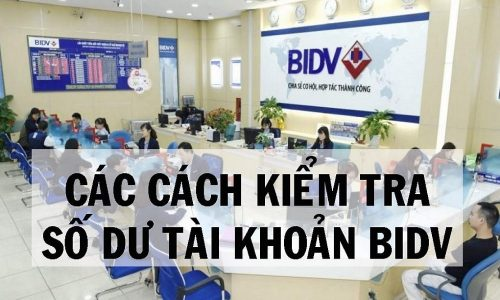 6 cách kiểm tra tiền trong thẻ ATM BIDV nhanh nhất 2021