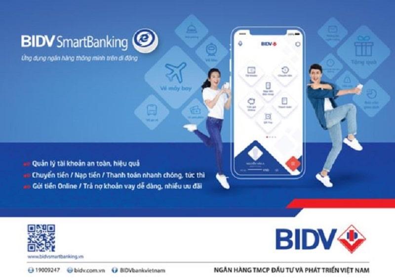 Truy vấn tài khoản qua ứng dụng Smart Banking