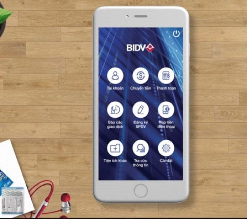 Kiểm tra tiền trong thẻ ATM BIDV qua Online