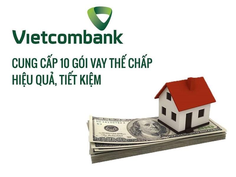 Có nhiều gói vay với lãi suất ưu đãi được Vietcombank áp dụng