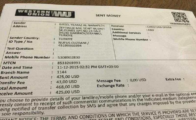 Thủ tục nhận/chuyển tiền  Western Union Vietcombank đơn giản và nhanh chóng