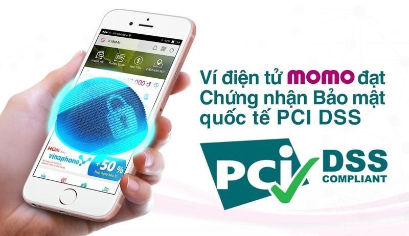 Ví điện tử Momo sở hữu Chứng nhận bảo mật quốc tế PCI DSS