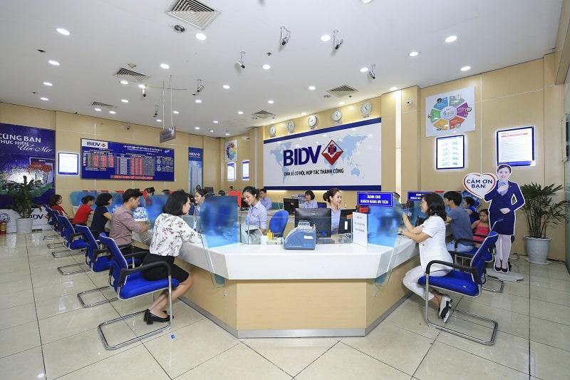 Khung giờ làm việc ngân hàng BIDV được phân theo khu vực