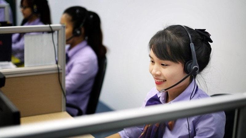 Nhân viên tổng đài TPBank hỗ trợ tất cả các dịch vụ từ ngân hàng TPBank