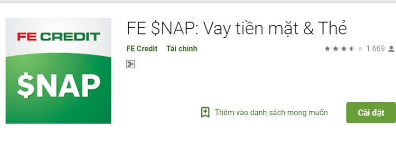 FE $NAP - App vay tiền mặt & thẻ