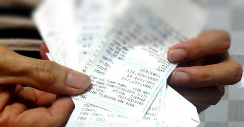 Hóa đơn tiền điện phải chính chủ, mọi thông tin phải trùng khớp với các loại giấy tờ cá nhân