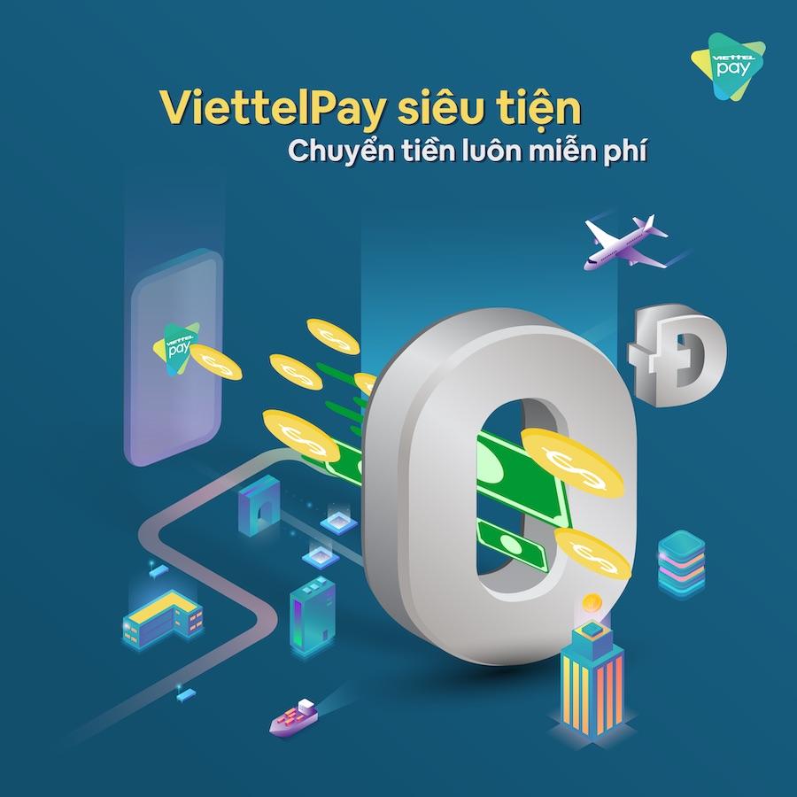 Nạp tiền vào ViettelPay thông qua tài khoản ngân hàng